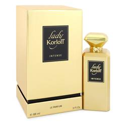 Lady Korloff Intense Perfume by Korloff 3 oz Eau De Parfum Spray