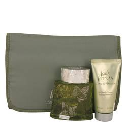 Lolita Lempicka L'eau Au Masculin Cologne by Lolita Lempicka -- Gift Set - 3.4 oz Eau De Toilette Spray + 2.5 oz Shower Gel in Travel Case