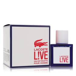 Lacoste Live Cologne by Lacoste 1.3 oz Eau De Toilette Spray