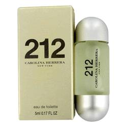 212 Perfume by Carolina Herrera 0.17 oz Mini EDT