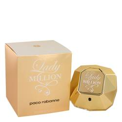 Lady Million Perfume by Paco Rabanne 2.7 oz Eau De Toilette Spray