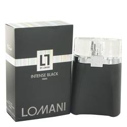 Lomani Intense Black Cologne by Lomani 3.3 oz Eau De Toilette Spray
