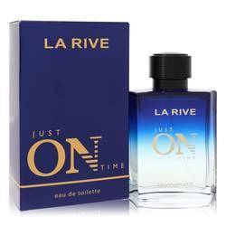 La Rive Just On Time Cologne by La Rive 3.3 oz Eau De Toilette Spray