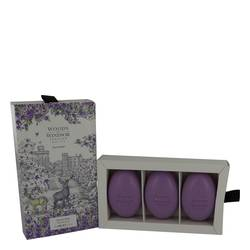 Lavender Perfume by Woods of Windsor 3  x 2.1 oz Fine English Soap