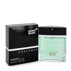 Presence Cologne by Mont Blanc 1.7 oz Eau De Toilette Spray