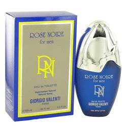 Rose Noire Cologne by Giorgio Valenti 3.4 oz Eau De Toilette Spray
