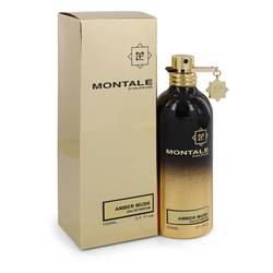 Montale Amber Musk Perfume by Montale, 100 ml Eau De Parfum Spray (Unisex) for Women