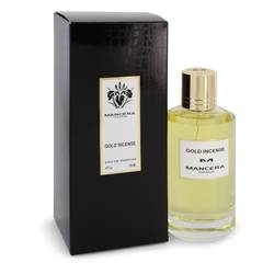 Mancera Gold Incense Perfume by Mancera 4 oz Eau De Parfum Spray