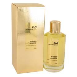 Mancera Roses Jasmine Perfume by Mancera 4 oz Eau De Parfum Spray