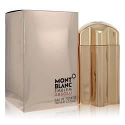 Montblanc Emblem Absolu Cologne by Mont Blanc 3.4 oz Eau De Toilette Spray