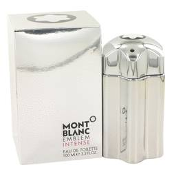 Montblanc Emblem Intense Cologne by Mont Blanc 3.4 oz Eau De Toilette Spray