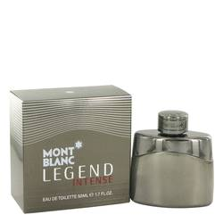 Montblanc Legend Intense Cologne by Mont Blanc 1.7 oz Eau De Toilette Spray