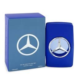 Mercedes Benz Man Blue Cologne by Mercedes Benz 3.4 oz Eau De Toilette Spray