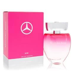 Mercedes Benz Rose Perfume by Mercedes Benz 3 oz Eau De Toilette Spray