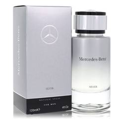 Mercedes Benz Silver Cologne by Mercedes Benz 4 oz Eau De Toilette Spray