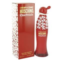 Cheap & Chic Petals Perfume by Moschino 3.4 oz Eau De Toilette Spray