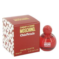 Cheap & Chic Petals Perfume by Moschino 0.15 oz Mini EDT