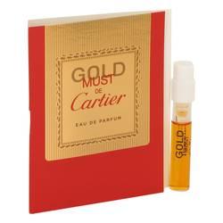 Must De Cartier Gold Perfume by Cartier 0.05 oz Vial (sample)