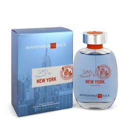 Mandarina Duck Let's Travel To New York Cologne by Mandarina Duck 3.4 oz Eau De Toilette Spray