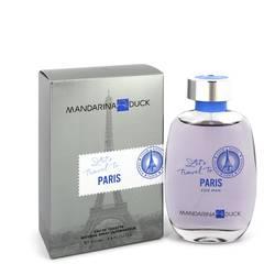Mandarina Duck Let's Travel To Paris Cologne by Mandarina Duck 3.4 oz Eau De Toilette Spray
