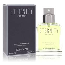 Eternity Cologne by Calvin Klein 3.4 oz Eau De Toilette Spray