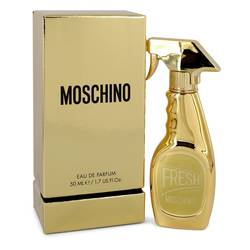 Moschino Fresh Gold Couture Perfume by Moschino 1.7 oz Eau De Parfum Spray