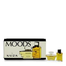 Moods Perfume by Krizia -- Gift Set - .2 oz Mini EDT (Men) + .2 oz Mini EDP (Women)