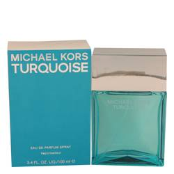 Michael Kors Turquoise Perfume by Michael Kors 3.4 oz Eau De Parfum Spray