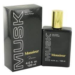 Monsieur Musk Cologne by Dana 4 oz After Shave