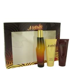 Mambo Cologne by Liz Claiborne -- Gift Set - 3.4 oz Cologne Spray + 3.4 oz Body Wash + 3.4 oz Body Moisturizer