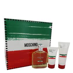Moschino Friends Cologne by Moschino -- Gift Set - 4.2 oz Eau De Toilette Spray +1.7 oz  After Shave Balm + 3.4 oz Shower Gel