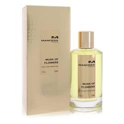 Mancera Musk Of Flowers Perfume by Mancera 4 oz Eau De Parfum Spray