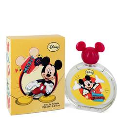 Mickey Mouse Cologne by Disney 3.4 oz Eau De Toilette Spray (Packaging may vary)