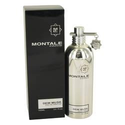 Montale Dew Musk Perfume by Montale 3.4 oz Eau De Parfum Spray (Unisex)