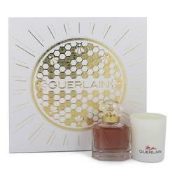 Mon Guerlain Perfume by Guerlain -- Gift Set - 1.6 oz Eau De Parfum Spray + 2.6 oz Scented Candle