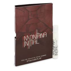 Montana Initial Cologne by Montana 0.03 oz Vial (sample)