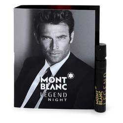 Montblanc Legend Night Cologne by Mont Blanc 0.04 oz Vial (sample)