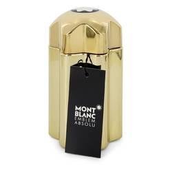 Montblanc Emblem Absolu Cologne by Mont Blanc 3.3 oz Eau De Toilette Spray (Tester)