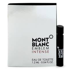 Montblanc Emblem Intense Cologne by Mont Blanc 0.04 oz Vial (sample)