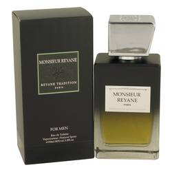 Monsieur Reyane Cologne by Reyane Tradition 3.3 oz Eau De Toilette Spray