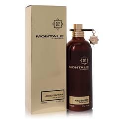 Montale Aoud Safran Perfume by Montale 3.4 oz Eau De Parfum Spray