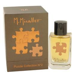 Micallef Puzzle Collection No 2 Perfume by M. Micallef 3.3 oz Eau De Parfum Spray