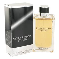 Silver Shadow Cologne by Davidoff 3.4 oz Eau De Toilette Spray