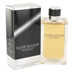 Silver Shadow Cologne by Davidoff 3.4 oz Eau De Toilette Spray