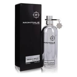 Montale Wood & Spices Cologne by Montale 3.4 oz Eau De Parfum Spray