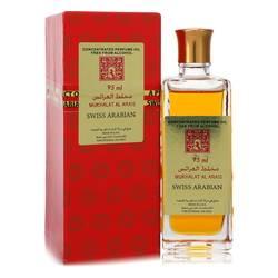 Mukhalat Al Arais Cologne by Swiss Arabian 3.2 oz Concentrated Perfume Oil Free From Alcohol (Unisex)