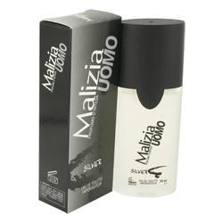 Malizia Uomo Silver Cologne by Vetyver 1.7 oz Eau De Toilette Spray