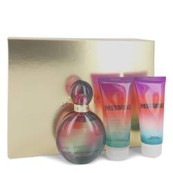 Missoni Perfume by Missoni -- Gift Set - 3.4 oz Eau De Parfum Spray + 3.4 oz Body Lotion + 3.4 oz Shower Gel