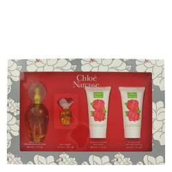 Narcisse Perfume by Chloe -- Gift Set - 1.7 oz Eau De Toilette Spray + 1.7 oz Shower Gel + 1.7 oz Body Lotion + .2 oz Mini EDT Spray