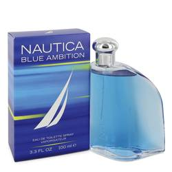 Nautica Blue Ambition Cologne by Nautica 3.4 oz Eau De Toilette Spray